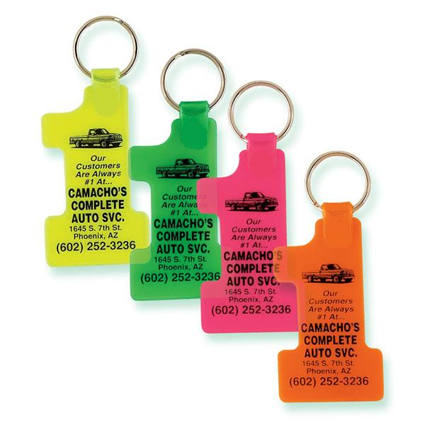 NEON #1 KEY CHAINS
