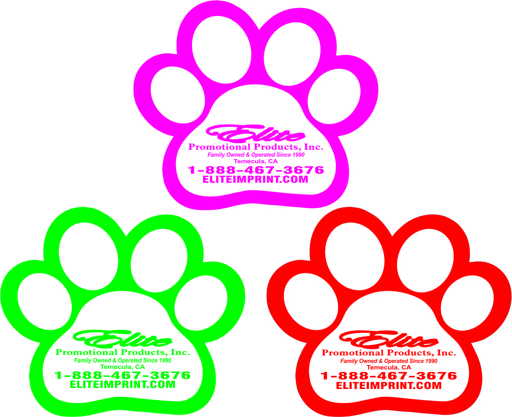 Doggie Paw Magnets