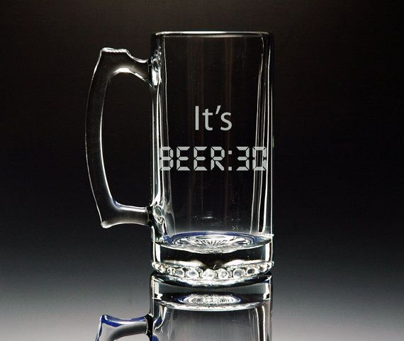 28 oz Glass Root Beer Mug
